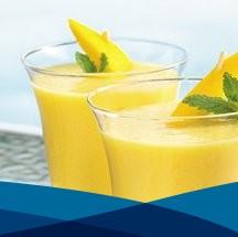 Licuado energético de mango + Lebasi Lactoserum
