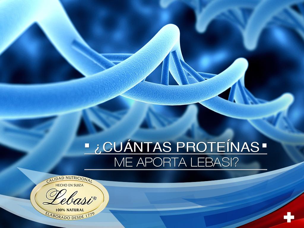 Aporte de proteínas Lebasi